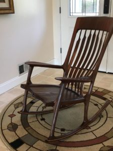 order custom rocking chair