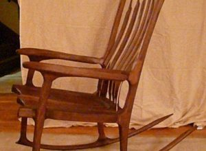 rocking chair with a spirit