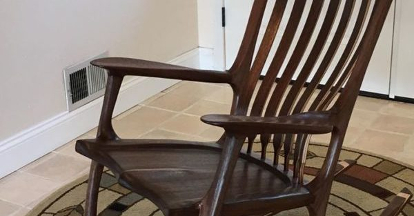custom rocking chair